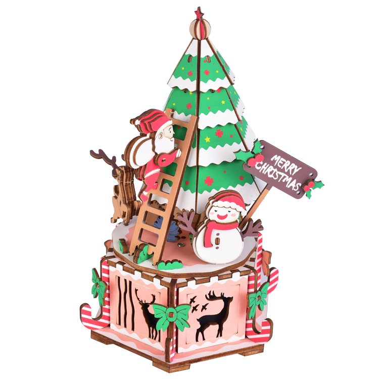 music box christmas tree