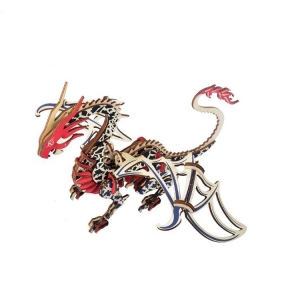 3D wooden dragon jigsaw puzzle