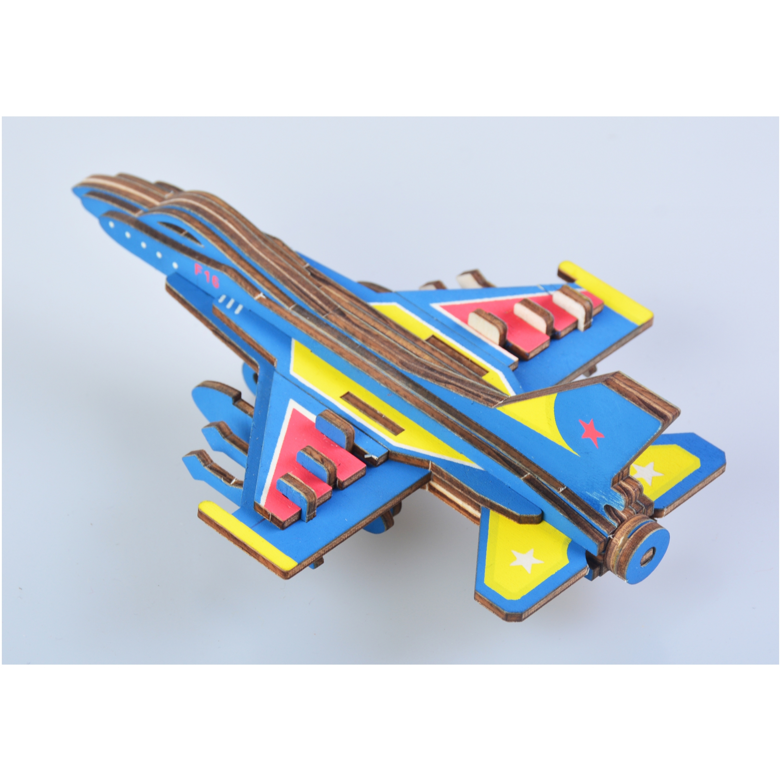 F16 Fighter Plane 3D children jigsaw puzzle toy