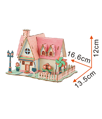 3D Jigsaw Puzzle 3D Jigsaw Puzzle for a small house puzzle