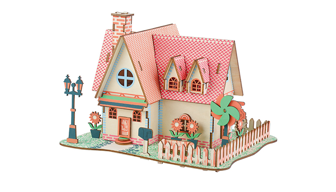 3D Jigsaw Puzzle for a small house puzzle