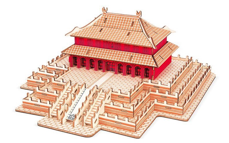 3D Jigsaw puzzle Chinese palace