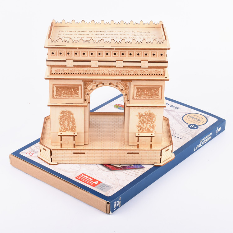3D Jigsaw puzzle world famous Building Gift for Teenager and kids