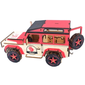 3D wooden DIY car model jigsaw puzzle fortnite