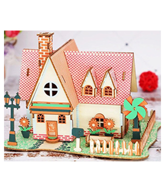 3d puzzle 3D Jigsaw Puzzle for a small house puzzle