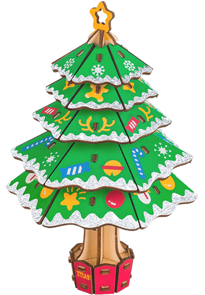 Christmas tree 3D puzzle