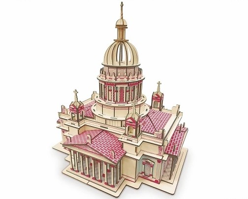 Wooden Material 3D Jigsaw puzzle