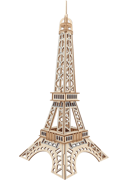 Eiffel Tower Jigsaw