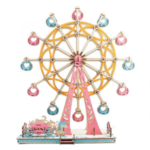 Ferris Wheel 3D DIY Wood Puzzle