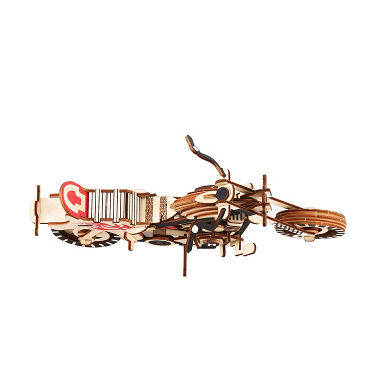 3D Puzzle Motorcycle Wooden Puzzles