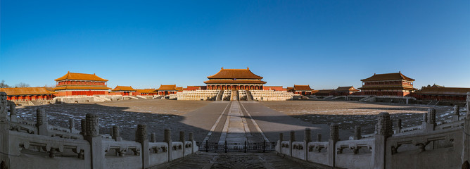 Taihe Palace, a famous ancient building in China