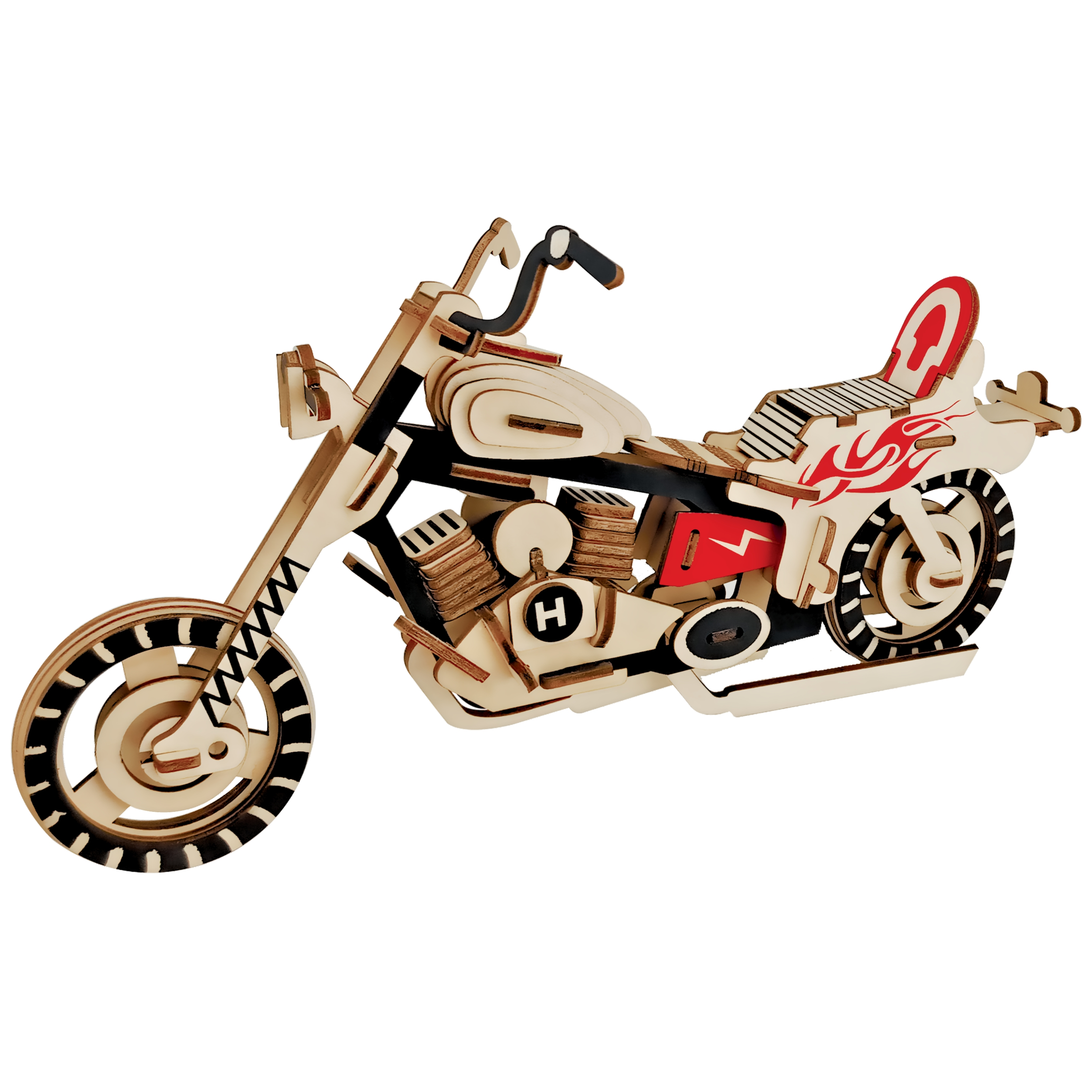 3D Puzzle Motorcycle