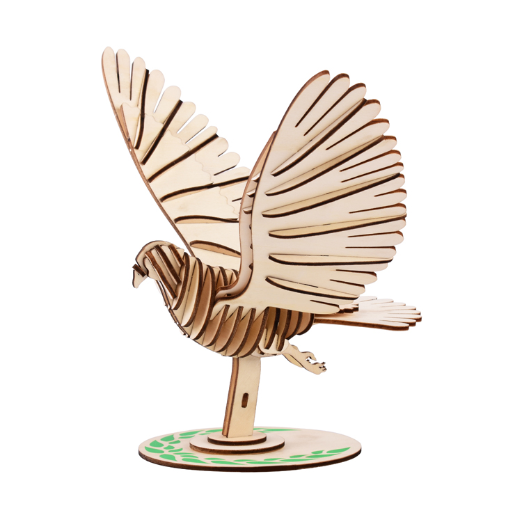 Wooden PIGEON Jigsaw Puzzle