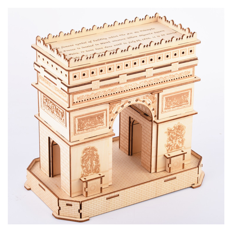 Triumphal Arch Plywood material 3D Jigsaw puzzle